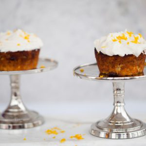 sweet, dessert, carrot cupcakes, creamy, frosting, healthy, apple, vegetarian, gluten free