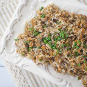 israel, middle eastern, risotto, carbs, healthy, vegetarian, vegan, gluten free, shabbat, dinner, side dish