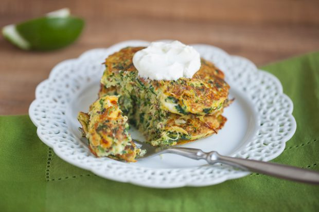 zucchini pancakes, breakfast, brunch, sides, side dish, vegetarian, healthy, gluten free