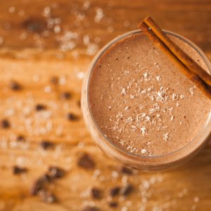 smoothie, chocolate, banana, sweet, dessert, kid friendly, gluten free, vegan, breakfast