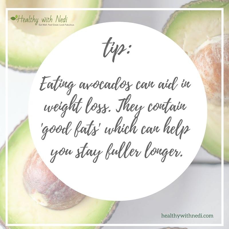 avocado health tips