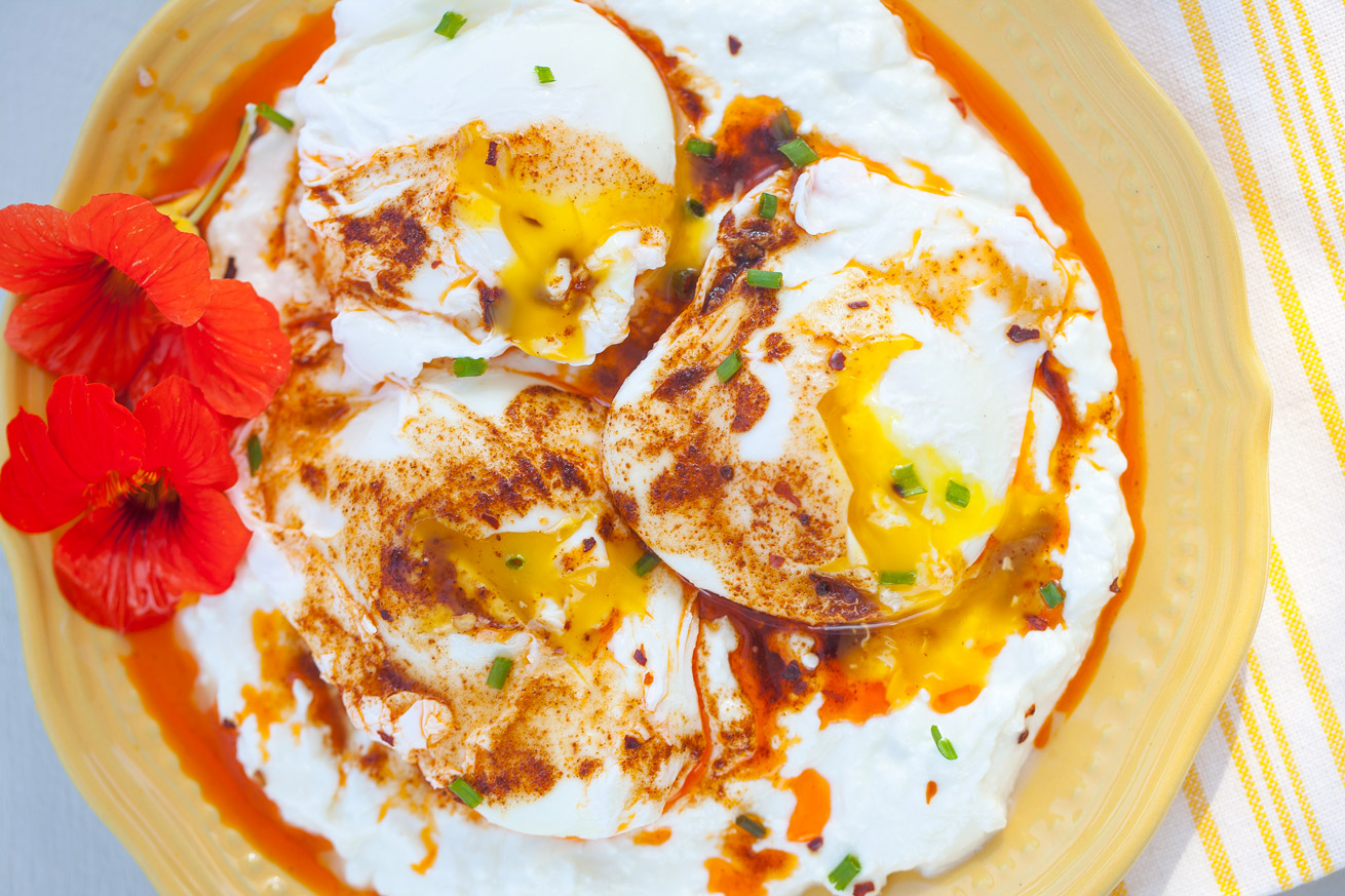 poached eggs, breakfast, protein, healthy, paleo, gluten free