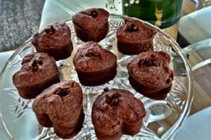 sweet, dessert, gluten-free, vegan, healthy, cupcakes, vegetarian