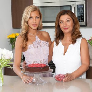 mom, mother's day, holiday, sweet, dessert, chocolate, cake, raspberries, gluten free