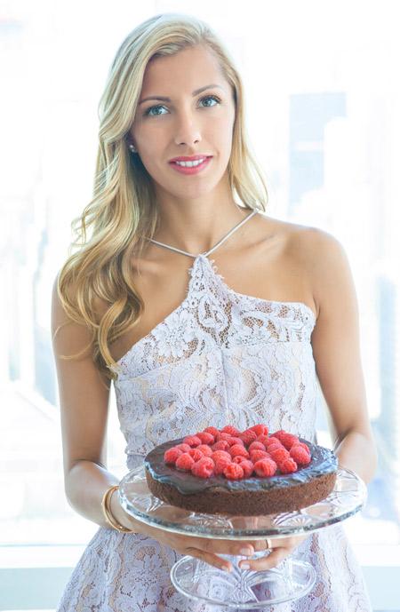 mom, mother's day, holiday, sweet, dessert, chocolate, cake, raspberries, gluten free