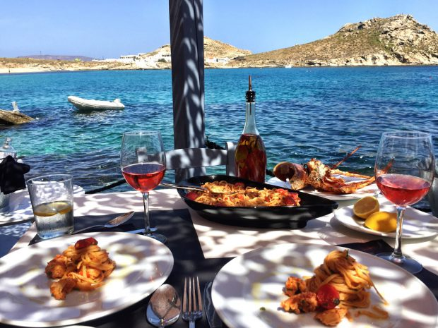 The Best Lunch In Mykonos Healthy With Nedihealthy With Nedi