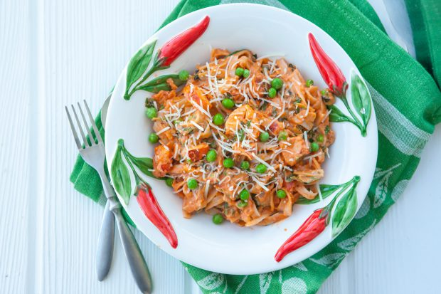 creamy, lobster, fettuccine, pasta, low carb, healthy, gluten free, delicious, lunch, dinner