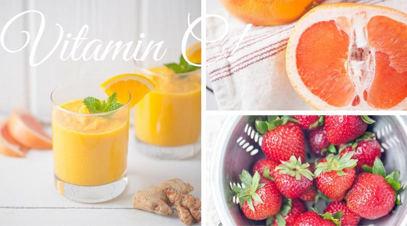 vitamin-c-strawberries-grapefruit