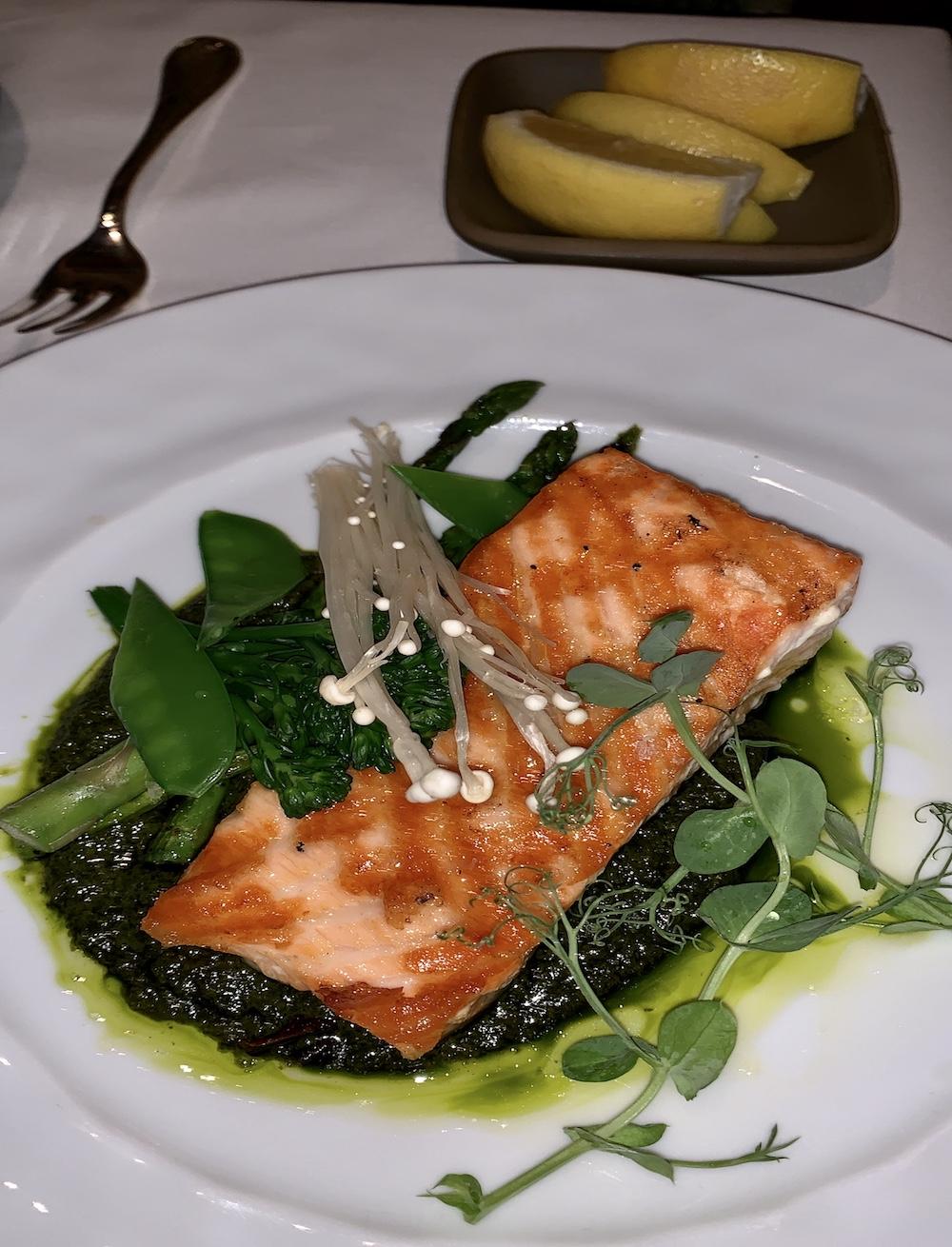 Salmon-aspen