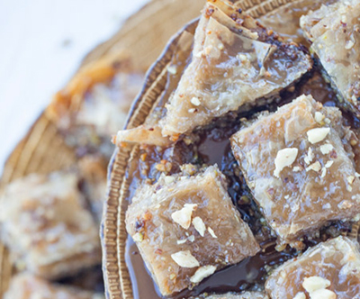 sweet, dessert, baklava, greece, moms recipe