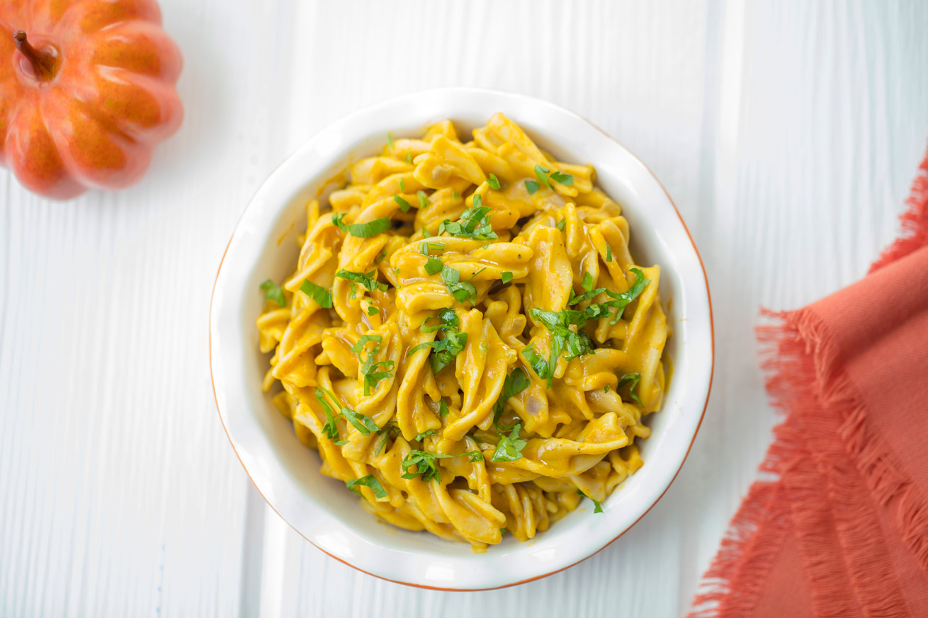 Pumpkin Chickpea Pasta Healthy With Nedihealthy With Nedi