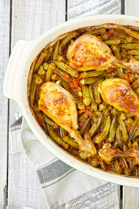 okra chicken