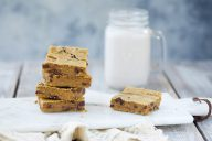 vegan blondies