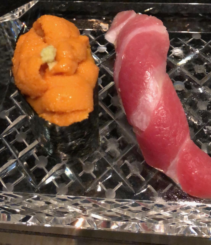 sushi, tokyo, japan, tuna, uni