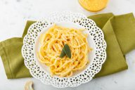 palmini, linguine, low carb, spaghetti, noodles