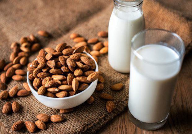 is almond milk plant based