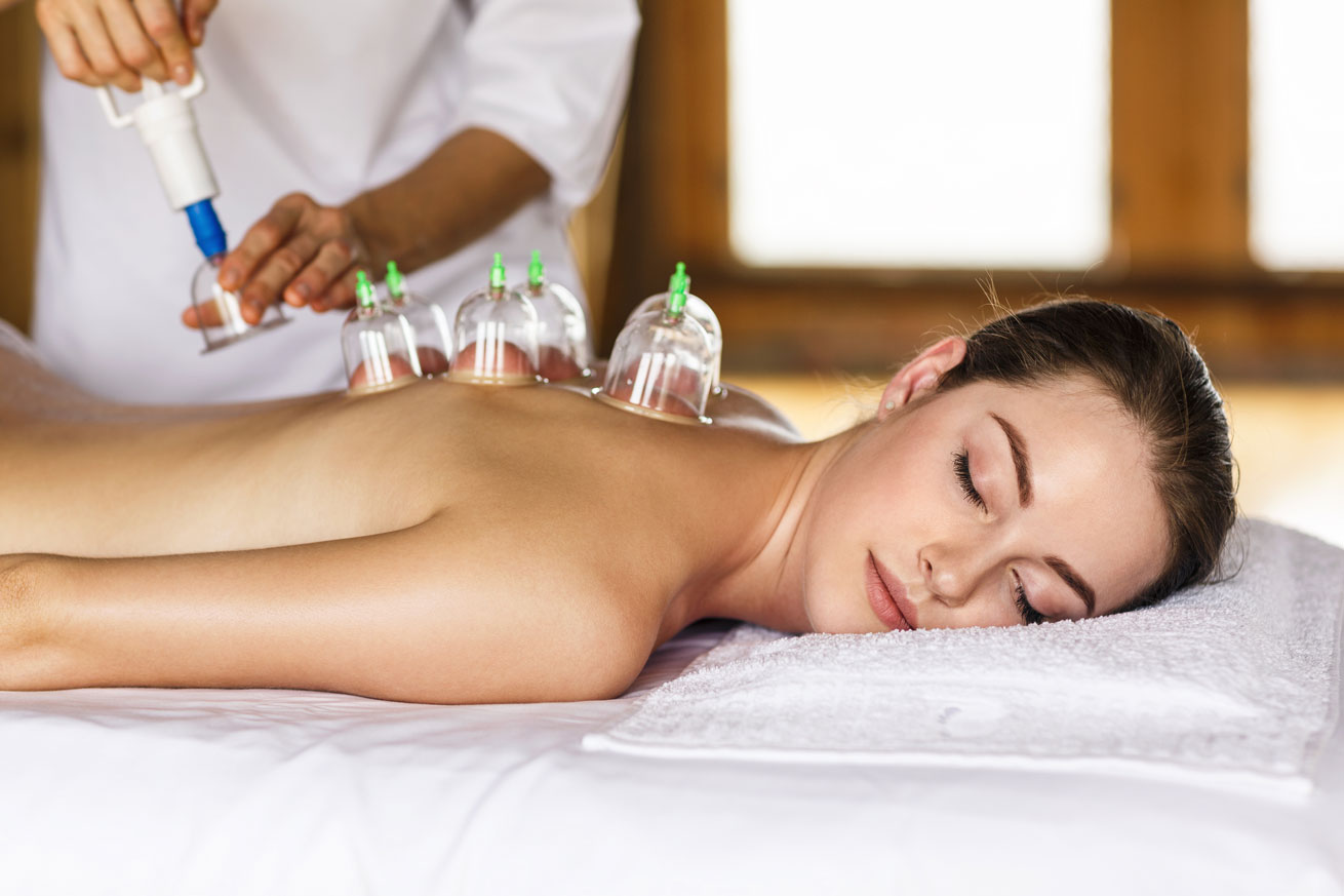 cupping, detox, therapy, massage