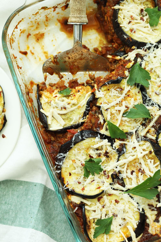 eggplant, moussaka