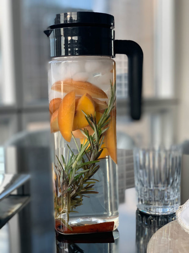 autumn, water, detox, rosemary, cinnamon