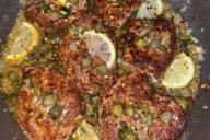 chicken, piccata, capers, lemon, gluten free, dinner