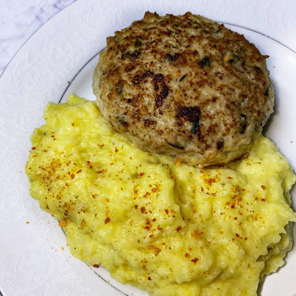 chicken-meatball-burger