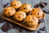 muffins, chocolate, vegan, plant based, banana, dairy free, gluten free, breakfast, dessert